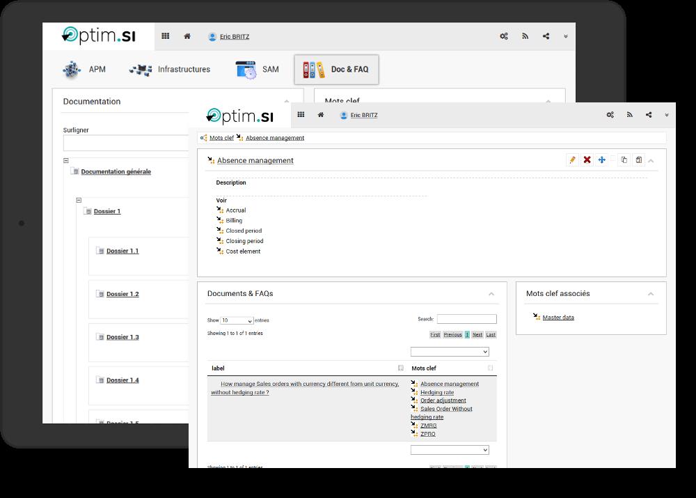 logiciel Optim-SI DocFAQ