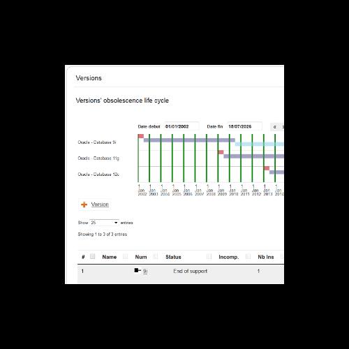 Aperçu logiciel Optim-SI SAM